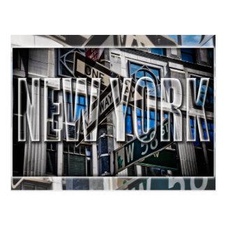 ニューヨークの郵便はがき ポストカード