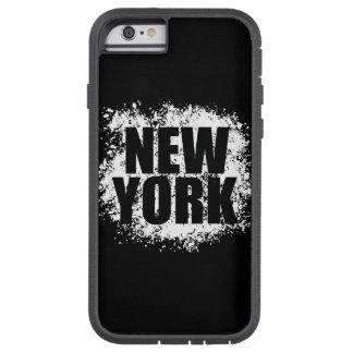 ニューヨークの都市落書き TOUGH XTREME iPhone 6 ケース