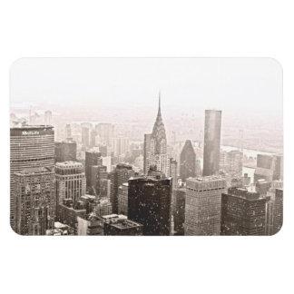 ニューヨークの雪 マグネット