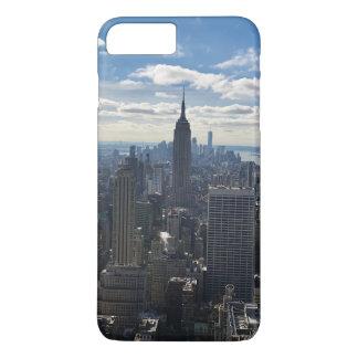 ニューヨークの電話箱-帝国国家 iPhone 7 PLUSケース