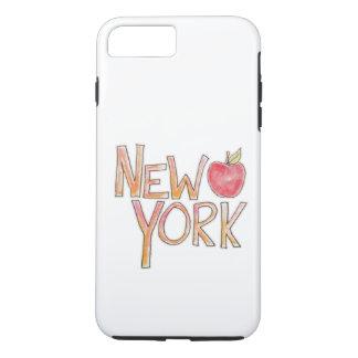 ニューヨークの電話箱 iPhone 8 PLUS/7 PLUSケース