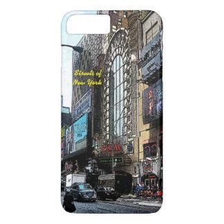 ニューヨークのiPhone 7のプラスの場合の通り iPhone 8 Plus/7 Plusケース