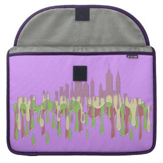ニューヨークのNYのスカイラインPCGP - MacBook PROスリーブ