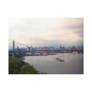 ニューヨークのTriborough橋 キャンバスプリント