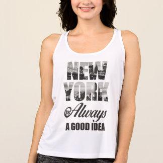 ニューヨークはよいアイディア常にです タンクトップ
