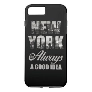 ニューヨークはよいアイディア常にです iPhone 8 PLUS/7 PLUSケース