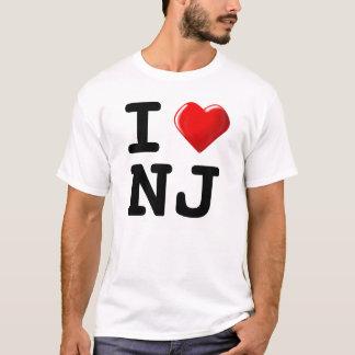 ニューヨークを忘れて下さい! 私はニュージャージーを愛します! Tシャツ