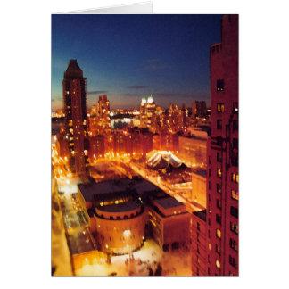 ニューヨークシティすぐに カード