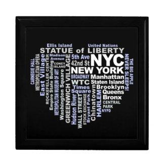 ニューヨークシティのギフト用の箱 ギフトボックス