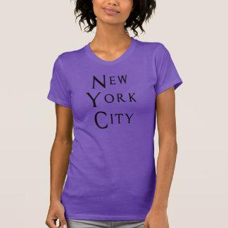 ニューヨークシティのクラシックのワイシャツ Tシャツ