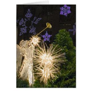 ニューヨークシティのクリスマス カード