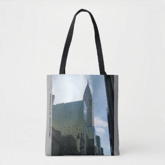 ニューヨークシティのクールな戦闘状況表示板 トートバッグ
