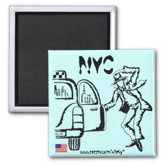 ニューヨークシティのグラフィックアートのカッコいいの磁石のデザイン マグネット
