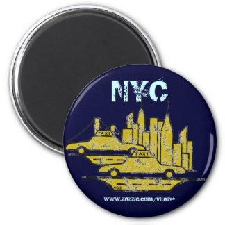 ニューヨークシティのグラフィックアートの磁石のデザイン マグネット