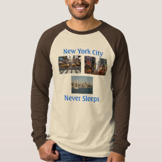 ニューヨークシティのスエットシャツ Tシャツ