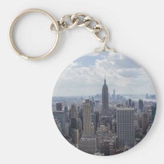 ニューヨークシティのスカイラインのエンパイア・ステート・ビルディングNYC キーホルダー