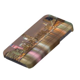 ニューヨークシティのスカイラインのパノラマ iPhone 4 ケース