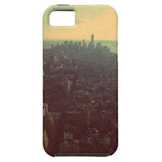 ニューヨークシティのスカイラインのiPhoneの場合 iPhone SE/5/5s ケース