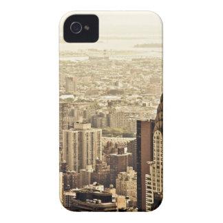 ニューヨークシティのスカイライン及びクライスラの建物 Case-Mate iPhone 4 ケース