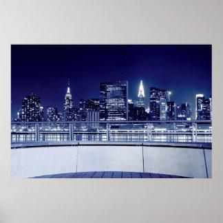 ニューヨークシティのスカイライン2 ポスター