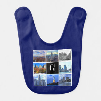 ニューヨークシティのスカイライン8のイメージの写真のコラージュ ベビービブ