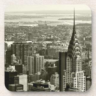 ニューヨークシティのスカイライン コースター