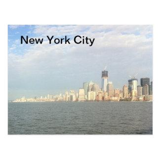 ニューヨークシティのスカイライン ポストカード