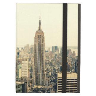 ニューヨークシティのスカイライン iPad AIRケース