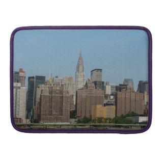 ニューヨークシティのスカイライン- Macbookのプロ袖 MacBook Proスリーブ