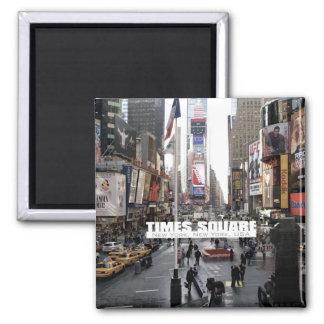 ニューヨークシティのタイムズ・スクエアの冷蔵庫用マグネット マグネット