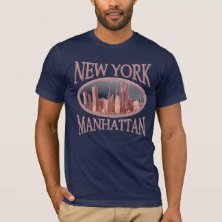 ニューヨークシティのデザイン Tシャツ