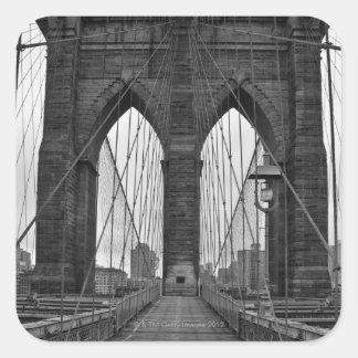 ニューヨークシティのブルックリン橋 スクエアシール