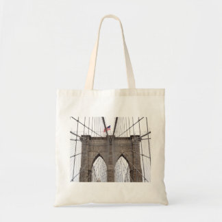 ニューヨークシティのブルックリン橋 トートバッグ