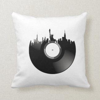 ニューヨークシティのレコード クッション