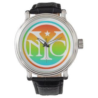 ニューヨークシティのロゴの腕時計 腕時計
