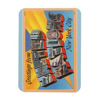 ニューヨークシティの国際連合の磁石 マグネット