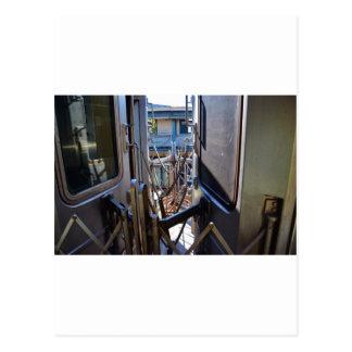 ニューヨークシティの地下鉄 ポストカード