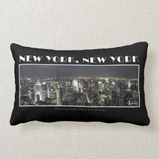 ニューヨークシティの枕のライト ランバークッション