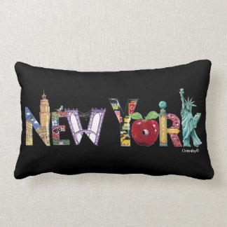 ニューヨークシティの枕 ランバークッション