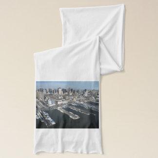 ニューヨークシティの港 スカーフ
