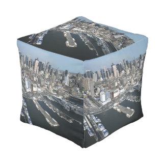 ニューヨークシティの港 プーフ
