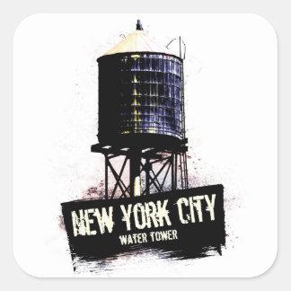 ニューヨークシティの給水塔 スクエアシール