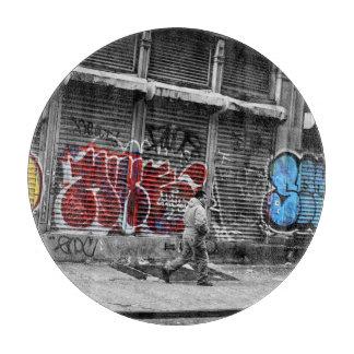 ニューヨークシティの通りの都市写真 カッティングボード