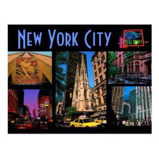 ニューヨークシティの郵便はがき ポストカード