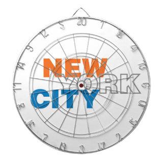 ニューヨークシティの金属のおりのダート盤 ダーツボード
