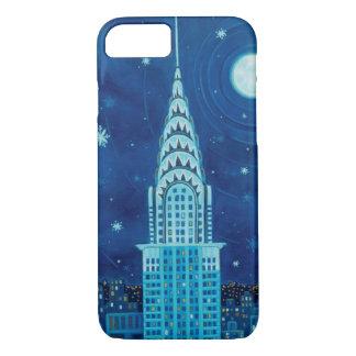 ニューヨークシティのiPhone 7の場合の冬 iPhone 7ケース