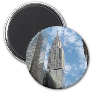 ニューヨークシティを造るクライスラ マグネット