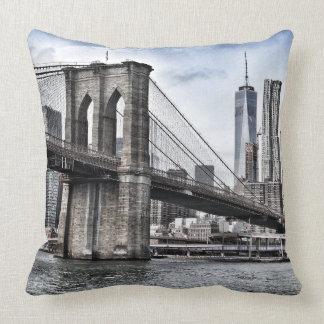 ニューヨークシティブルックリン橋 クッション