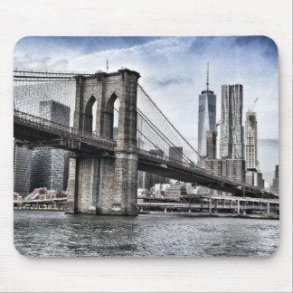 ニューヨークシティブルックリン橋 マウスパッド