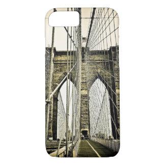 ニューヨークシティブルックリン橋 iPhone 8/7ケース